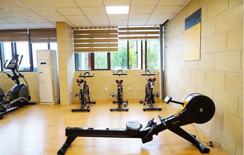 西南大学国际学院健身房