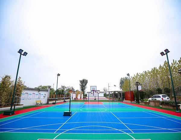 枝江市袁码头村文化广场